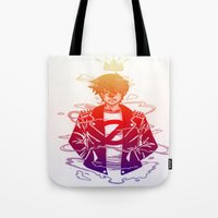 prince Tote Bags featuring Prince by Lance Phillips