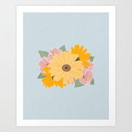 Bouquet 15 Art Print