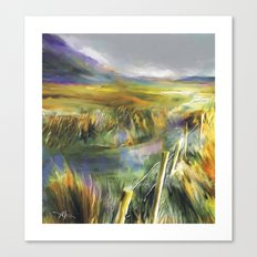 Approaching Rain - Achill Island - Ireland Canvas Print