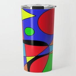 Abstract #87 Travel Mug