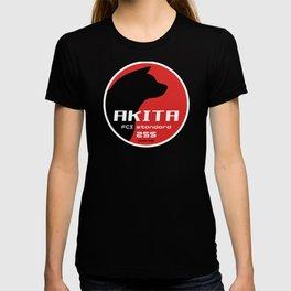 Akita standard 255 logo2 T-shirt