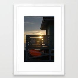 Guarding the Sun Framed Art Print