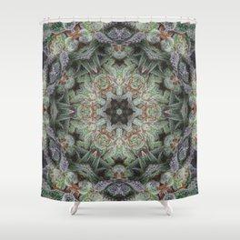Crystal Wheel Shower Curtain