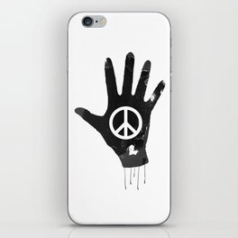 Human Touch, Peace & Love iPhone Skin