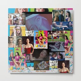 Jawbreaker Movie Collage. Metal Print