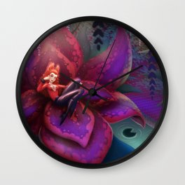 Kiss poisoned Wall Clock