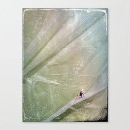 House Disaster Art - Slip Sliding Away Canvas Print