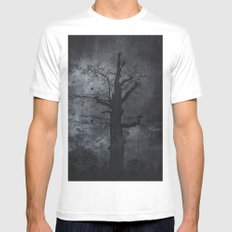 The dirty winter spirit Mens Fitted Tee X-LARGE White