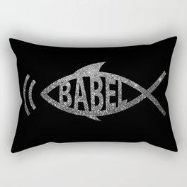 Babelfish Rectangular Pillow