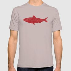Swedish Fish X-LARGE Mens Fitted Tee Cinder
