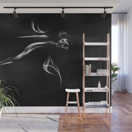 The Ghost Wall Mural