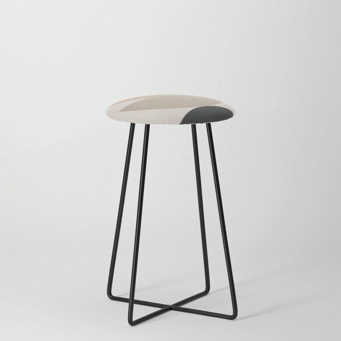 Geometric Modern Art 31 Counter Stool