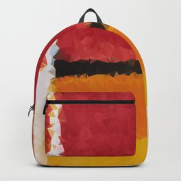 Untitled After Rothko Low Poly Geometric Triangles Backpack