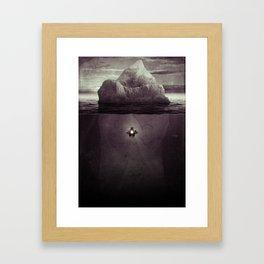 ⌘ Depth Framed Art Print
