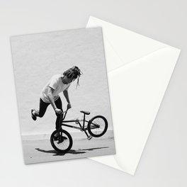 Flatland BMX Rider Stationery Cards