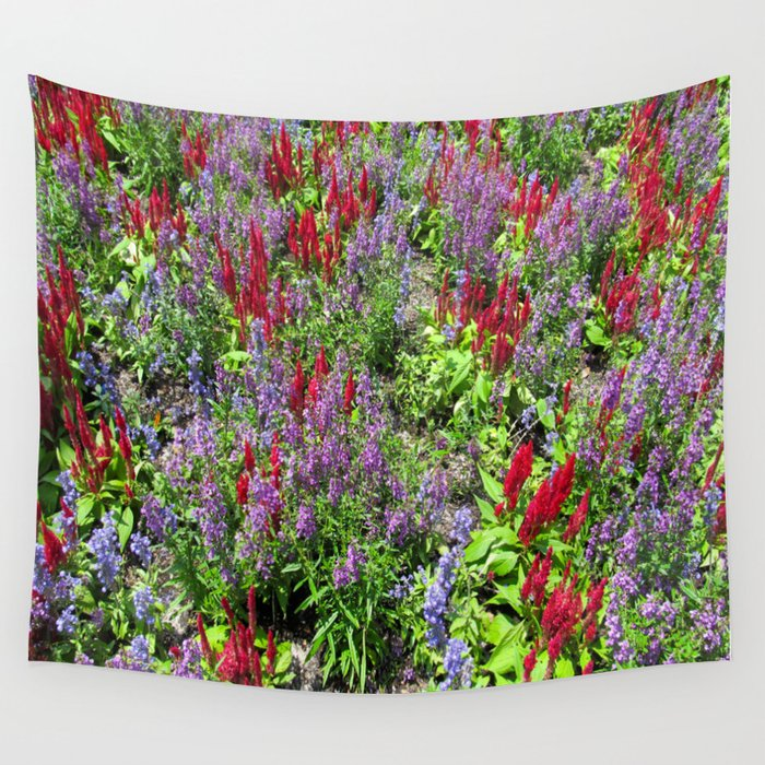Flower Pop Wall Tapestry