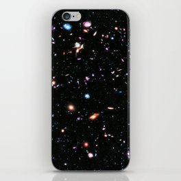 eXtreme Deep Field, Galaxy Background, Universe Large Print, Space Wall Art Decor, Deep Space Poster iPhone Skin
