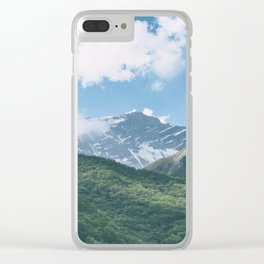 Mountains in Sichuan Clear iPhone Case