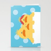 ducks Stationery Cards featuring Ducks by SANTA