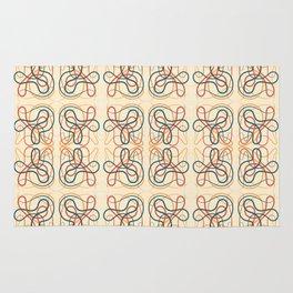shuffle pattern Rug