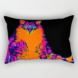 Fat Cat Rectangular Pillow