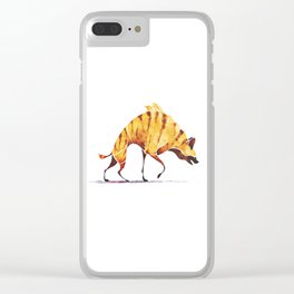 Hyena Clear iPhone Case