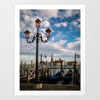 venice Art Prints featuring Venice by Michelle McConnell