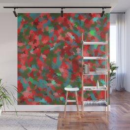 Redness Wall Mural