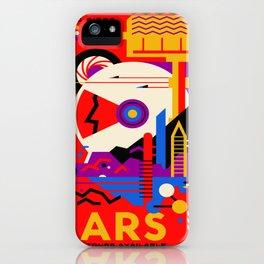 Vintage poster - Mars iPhone Case