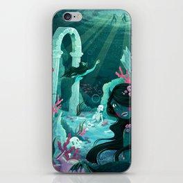Mermaids of the Black Lagoon iPhone Skin