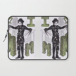 """Hold me"", ""I can't"".  -Edward Scissorhands Laptop Sleeve"