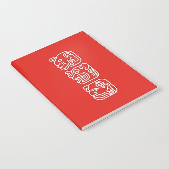 Mayan Glyphs ~ Hands Notebook