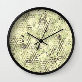 Sage Green Odyssey Wall Clock
