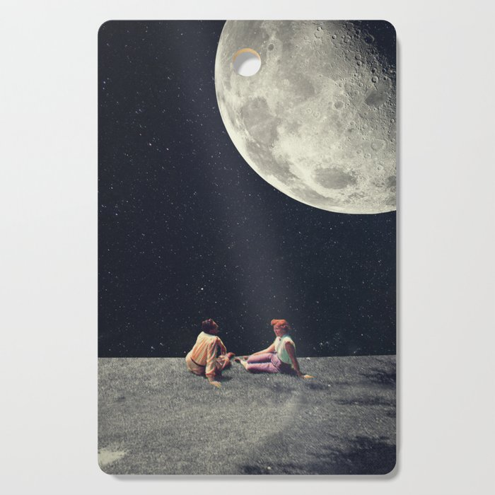 I Gave You the Moon for a Smile Cutting Board