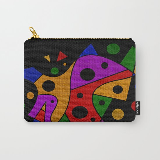 Abstract #216 Carry-All Pouch