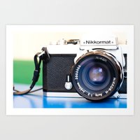 nikkormat ft2 Art Print