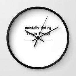 Travis Fimmel one love Wall Clock