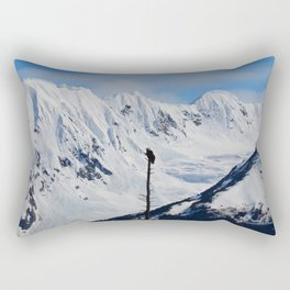 Perch With A View - I Rectangular Pillow