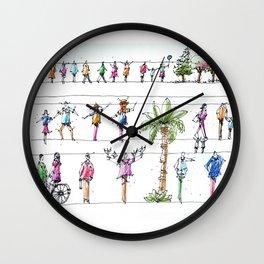 Sketch Practice Wall Clock