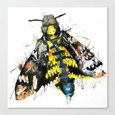 Death Moth  Canvas Print