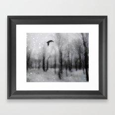 As The Crow Flies Framed Art Print