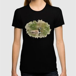 Watercolor Goose Art T-shirt