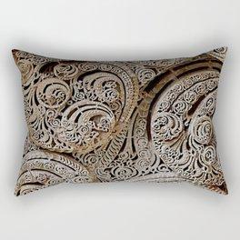 Stone Fractals Rectangular Pillow