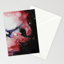 Red Nebula Stationery Cards