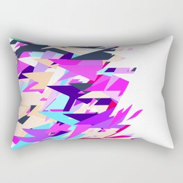 Happy Triangles Rectangular Pillow