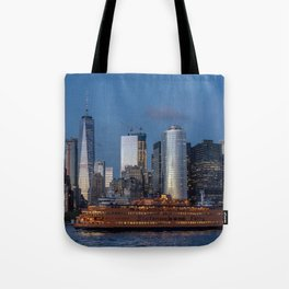 New York City at Night Tote Bag