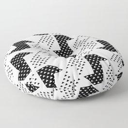 Clover&Nessie Black/White Floor Pillow