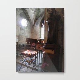Beaune Chapel France Metal Print
