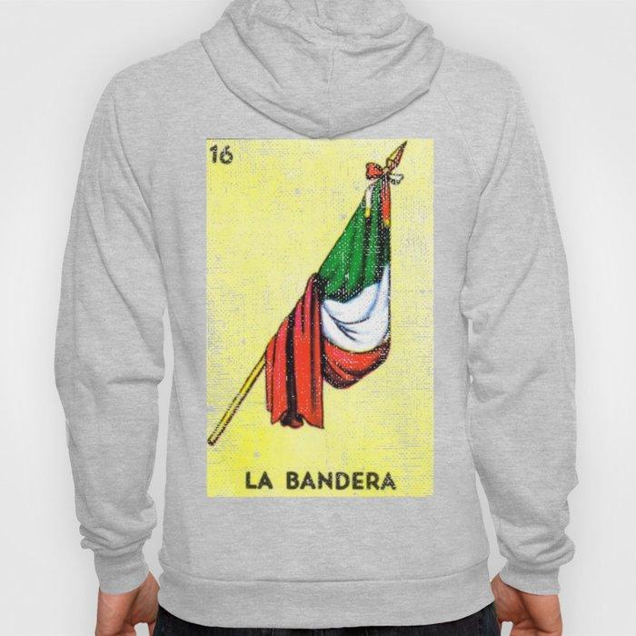 La Bandera Mexican Loteria Card Hoody
