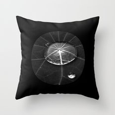 water drop XIV Throw Pillow